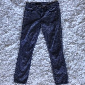 J. Crew Pants - J.Crew Blue Basketweave Pants